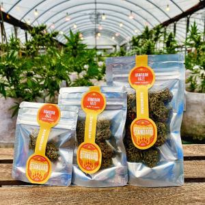 Hawaiian Haze Hemp CBD Hand Trimmed Flower Buds by Appalachian Standard