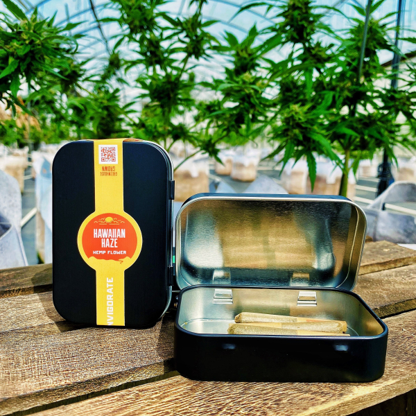 Hawaiian Haze Sativa CBD Hemp Pre Roll Tin by Appalachian Standard