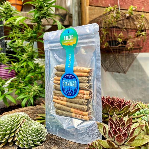 Abacus Rollie Refill Hemp Flower Pre Roll CBD Joint by Appalachian Standard