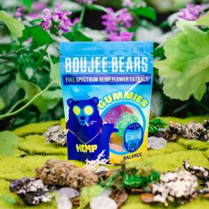 Boujee Bears CBD Gummies with Full Spectrum Hemp Oil