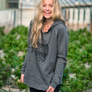 Cali Dreamin Lightweight Pullover Hoodie- Gray