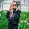 Purple Crop Hoodie Appalachian Standard