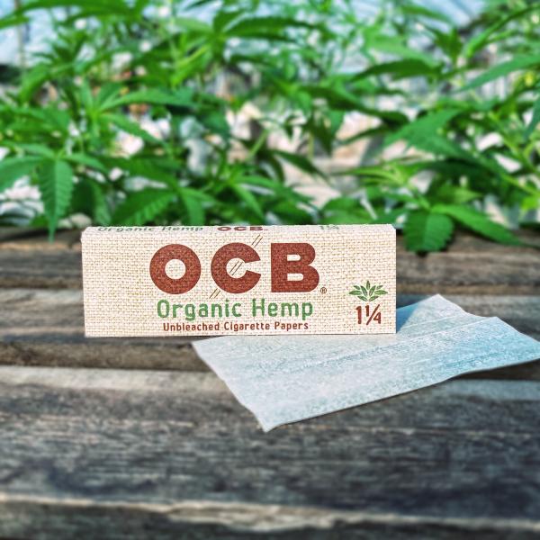 Hemp Rolling Papers- OCB Brand