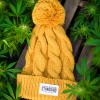 Yellow Pom Beanie by Appalachian Standard