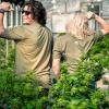 Appalachia Vibez Tee- Military Green Version